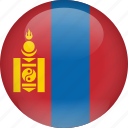 country, flag, mongolia