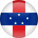 antilles, country, flag, netherlands icon