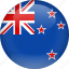 country, flag, new, zealand icon
