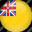 country, flag, niue icon
