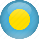 country, flag, palau
