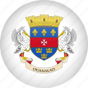 barthelemy, country, flag, saint, saint barthelemy icon