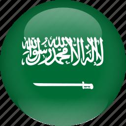 arabia, country, flag, saudi icon