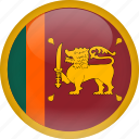 country, flag, srilanka