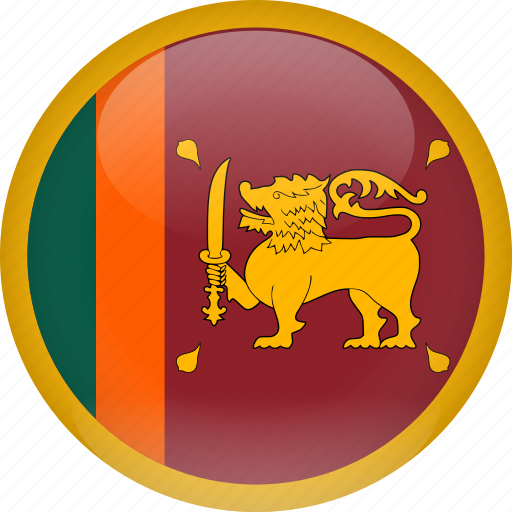 country, flag, srilanka icon