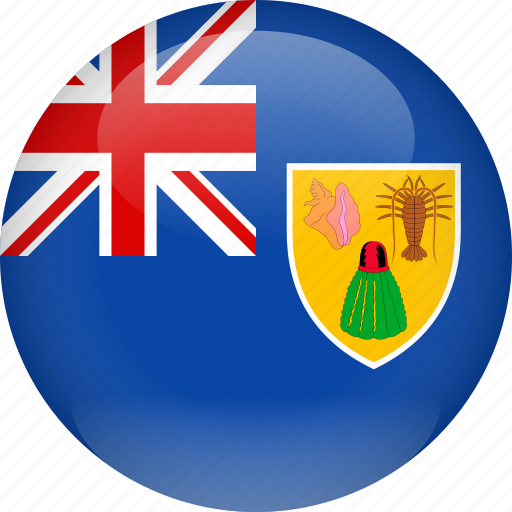 caicos, country, flag, turks, turks and caicos icon