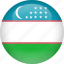 country, flag, uzbekistan icon