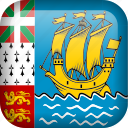 flag, saint pierre and miquelon icon