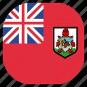 bermuda, circle, flag