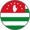 flag, abkhazia, country