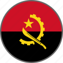 flag, angola, country