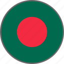 bangladesh, country, flag icon