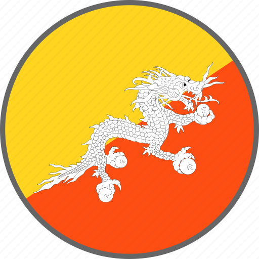 Bhutan, flag, country icon - Download on Iconfinder