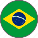 brazil, flag, country