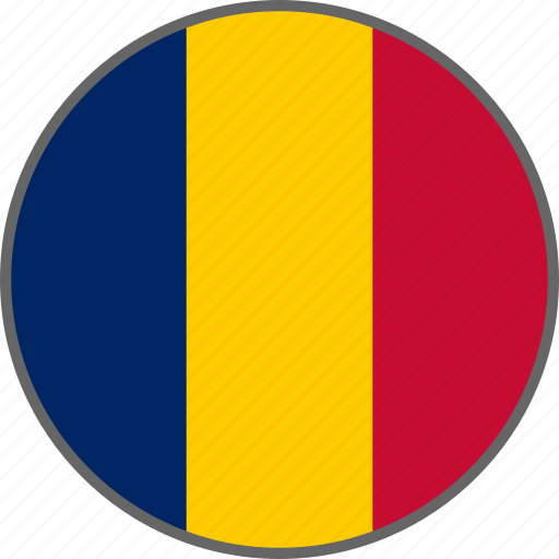Chad, flag, country icon - Download on Iconfinder