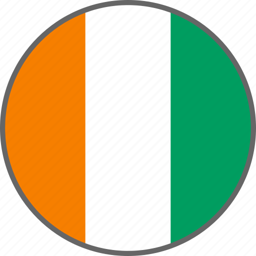 cote d'ivoire, country, flag icon