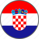 flag, croatia, country