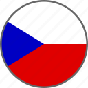 country, czech, flag icon