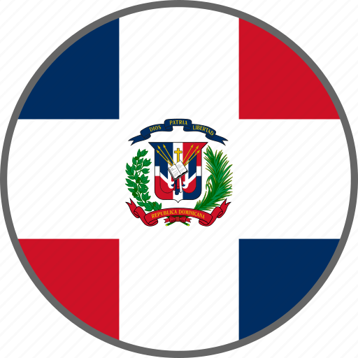 country, dominican, dominican republic, flag icon