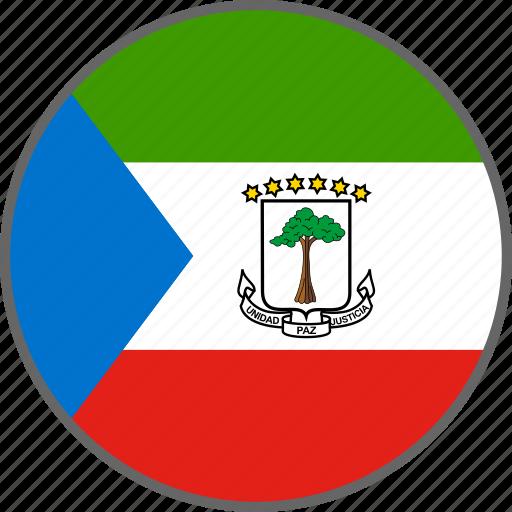 country, equatorial guinea, flag, guinea icon