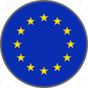 european, flag, country