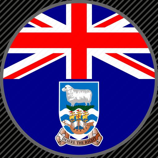 country, falkland, flag icon
