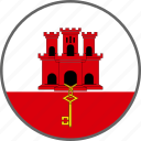 country, flag, gibraltar icon
