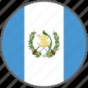 flag, guatemala, country icon
