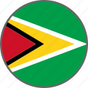 flag, guyana, country
