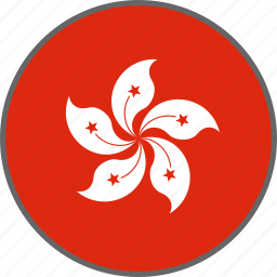 country, flag, hong kong icon
