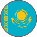 flag, kazakhstan, country