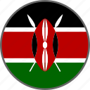 kenya, flag, country
