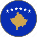 country, flag, kosovo icon