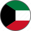 country, flag, kuwait icon
