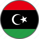 flag, libya, country