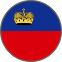 flag, liechtenstein, country