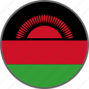 flag, malawi, country