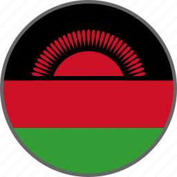 country, flag, malawi icon