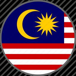 country, flag, malaysia icon