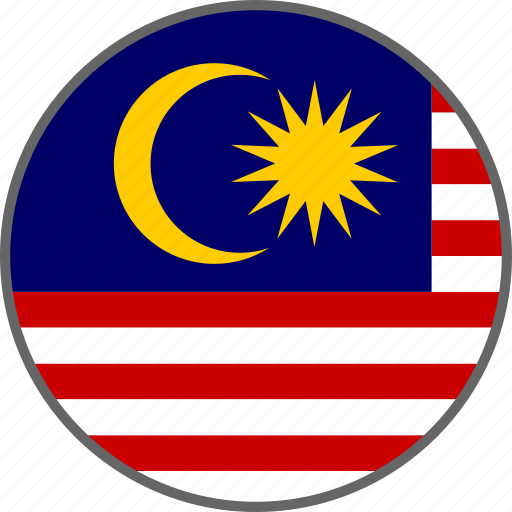 Flag, malaysia, country icon - Download on Iconfinder