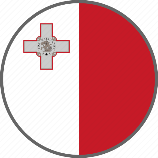 Flag, malta, country icon