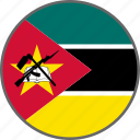 flag, mozambique, country