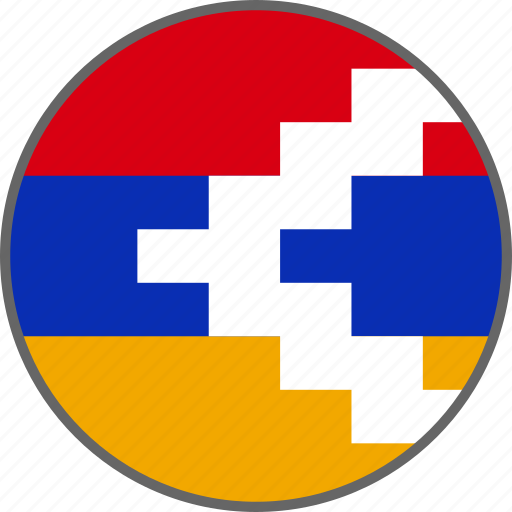 country, flag, nagorno icon