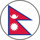 flag, nepal, country