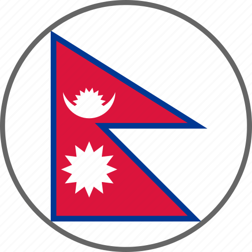 Flag, nepal, country icon - Download on Iconfinder