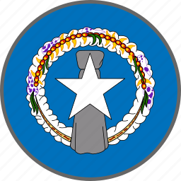 country, flag, mariana, northern mariana islands icon