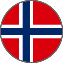 country, flag, norway svalbard, svalbard icon