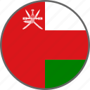 oman, flag, country