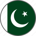 pakistan, flag, country