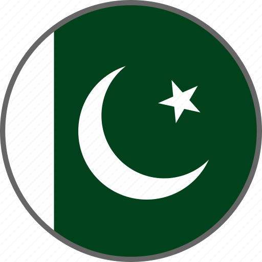 country, flag, pakistan icon